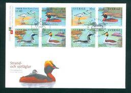 Sweden. Hong-Kong, China. FDC  2003 Cachet. Seabirds . Engraver: CZ. Slania - FDC