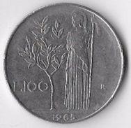 Italy 1965 100 Lire [C561/2DF] - 1946-… : Republic
