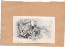ILLUSTRATEUR  ZED  -  Un Faux Pas  - POIT1 - - Künstlerkarten