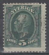 D6970 - Sweden Mi.Nr. 41a O/used, 2 Scans - Suède