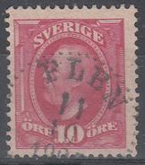 D6974 - Sweden Mi.Nr. 43 O/used, 2 Scans - Suède