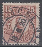 D6985 - Sweden Mi.Nr. 73 O/used, 2 Scans - Suède