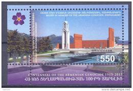 2015. Mountainous Karabakh, Armenian Genozide, S/s,  Mint/** - Armenia