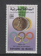 TIMBRE NEUF DU MAROC - JEUX OLYMPIQUES D'ETE A SEOUL, COREE DU SUD N° Y&T 1055 - Summer 1988: Seoul