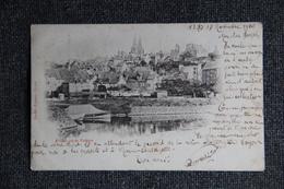 Saint LO , Vu De VALVIRE, Carte Pionnière 1900 - Saint Lo