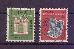 Bund 1953 - IFRABA - Mi.Nr. 171/172 Rund Gestempelt - Michel 55,00 € (427) - Used Stamps