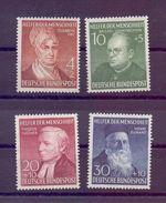 Bund 1952 - Wohlfahrt - MiNr. 156/159 Postfrisch** - Michel 130,00 € (586) - Used Stamps