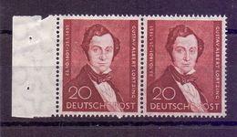 Berlin 1951 - Lortzing MiNr.74 Postfrisch** Im Waag.Paar - Michel 120,00 € (736) - Used Stamps
