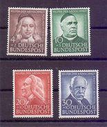 Bund 1953 - Wohlfahrt - Mi.Nr. 173/176 Postfrisch** - Michel 90,00 € (806) - Used Stamps