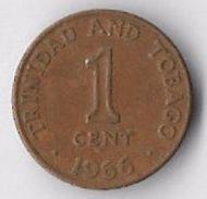 Trinidad And Tobago 1966 1 Cent [C566/2D] - Trinidad & Tobago