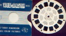 """VIEW-MASTER """"Alice In Wonderland"""" (FT 20 A) - 1 Disquette - Stereo-Photographie"""