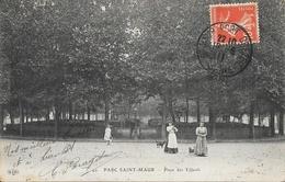 Parc St Saint Maur - Place Des Tilleuls - Carte E.L.D. Animée N° 49 - Saint Maur Des Fosses