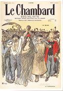 CPM - Le Chambard Socialiste - Carte De Presse - Vue Par Petit Pierre Steinlen - 12 - Pubblicitari
