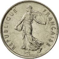 France, Semeuse, 5 Francs, 1977, Paris, SPL, Nickel Clad Copper-Nickel - France