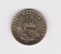 10 Francs Djibouti 2016 SUP / UNC - Djibouti
