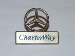 PINS PIN BADGE CHARTERWAY MERCEDES - Mercedes