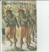 Carte Double 9.5 X 15 Cm Meilleurs Voeux De Guyane écrite - Guyane