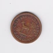 Rare Pièce Coloniale De 50 Centimes Djibouti 1921 TB/TTB - Djibouti