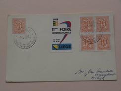 11eme FOIRE INternationale Liège ( Met Sluitzegel (s)) Anno 1959 ( Details Zie Foto's ) ! - Liege