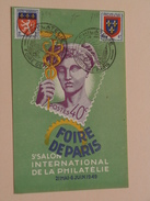 5e SALON Internationale De La PHILATELIE - Foir De PARIS - Anno 1949 ( Crayon / Details Zie Foto's / Potlood ) ! - Poste & Facteurs