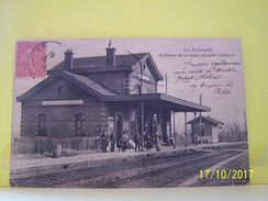 LE BOURGET (SEINE SAINT DENIS) INTERIEUR DE LA GARE. GRANDE CEINTURE. - Le Bourget