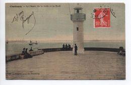 CHERBOURG (50) - LE PHARE DE LA JETEE DE LA RADE - Cherbourg