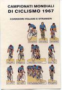 C029> Cartolina CAMPIONATI MONDIALI Di CICLISMO 1967 = Non Viaggiata 1967 - Ciclismo