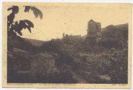 MAS CABARDES - Le Clocher Et Les Ruines Du Château - Frankrijk