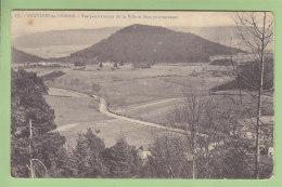 BRUYERES EN VOSGES : Vue Panoramique De La Ville Et Sites Environnants. 2 Scans. Edition ? - Bruyeres