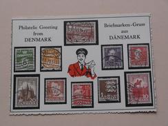 Philatelic Greetings From DENMARK Briefmarken-Gruss Aus DÄNEMARK 1949 ( Details Zie Foto's ) ! - Danemark
