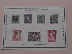 Greetings From DENMARK Grüss Aus DÄNEMARK Souvenier 19?? ( Details Zie Foto's ) ! - Danemark