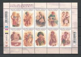 S. Africa 2003 Life In Informal Settlements Sheet Y.T. 1240/1249 ** - Blocks & Sheetlets
