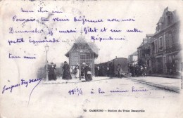14 -  CABOURG  -  Station Du Train Decauville - Cabourg