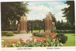 Jackson Park Gates - Windsor, Ontario, Canada - Windsor