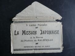 NANCY Enveloppe Mission Japonaise - Nancy
