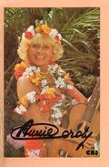 Cpa Carte Annie Cordy - Sänger Und Musikanten