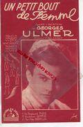 PARTITION MUSIQUE- UN PETIT BOUT DE FEMME-GEORGES ULMER-GEO KOGER--EDITIONS SALVET PARIS 1946 - Scores & Partitions