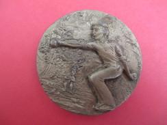 Médaille De Sport/  Pétanque / Champion Secteur/ Hérault/ Bronze/ 1982     SPO193 - Bowls - Pétanque