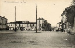 - PODENSAC - La Place -12573- - Francia