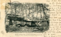 DOLMEN ET MENHIR(SAINT SAVIOL) - Dolmen & Menhire