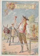 1 Chromo Du Chocolat POULAIN - N°10 - Les Boissons - Le Vin  - 065 - Poulain