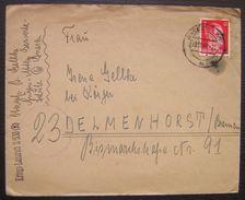 1944 Kriegs Lazarett //530 (R) Fachabteilungen, Lettre Avec Correspondance - Allemagne