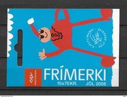 2008 MNH Iceland, Christmas,  Postfris - Cuadernillos/libretas