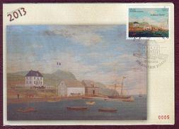 Carte Postale Philatélique - SAINT PIERRE ET MIQUELON - La Maison CHARTIER - 2013 - St.Pierre & Miquelon