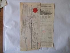 NEUILLY SUR SEINE ERNEST LAMBERT & Cie RHUM DES PLANTATIONS St JAMES FACTURE ET TRAITE DU 11 FEVRIER 1933 - France