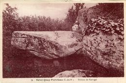 DOLMEN ET MENHIR(SAINT QUAY PORTRIEUX) - Dolmen & Menhirs