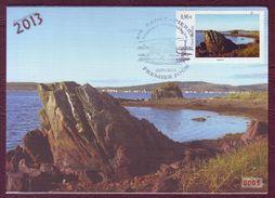 Carte Postale Philatélique - SAINT PIERRE ET MIQUELON - Histoire De Géologie - 2013 - St.Pierre & Miquelon