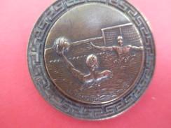 Médaille De Sport/ Natation/ Water-Polo/Insigne à  Épingle/Bronze /Brimeur/ Vers 1930-1950     SPO198 - Natation
