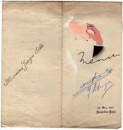 VP11.142 - Ancien Menu De 1947 - Mariage Famille LE DUIGOU X ALLO - Menus