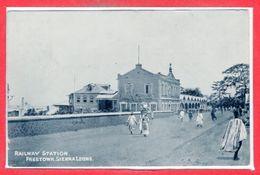 AFRIQUE - SIERRA LEONE - Railway Station - Sierra Leone